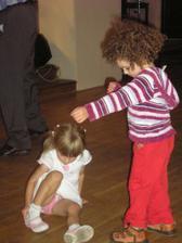 malé tanečnice