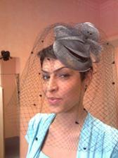 moje milovaná sestřička(svědkyně), při akci svatební salon :-)