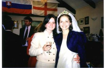 S kamaratkou, ktora bola jeden z mojich dvoch hosti :))