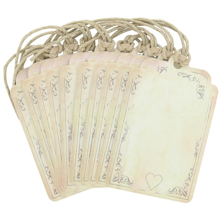 Nase planovanie... - Paperchase tea stained placecards