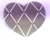 zavesna latkova tabula - srdce,