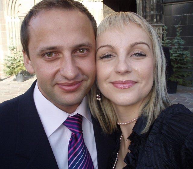 Robko a Monika 16.O8.2008 - tu sme našli spoločnú cestu kedy ja som vedela že sa za neho vydám raz určite...:)