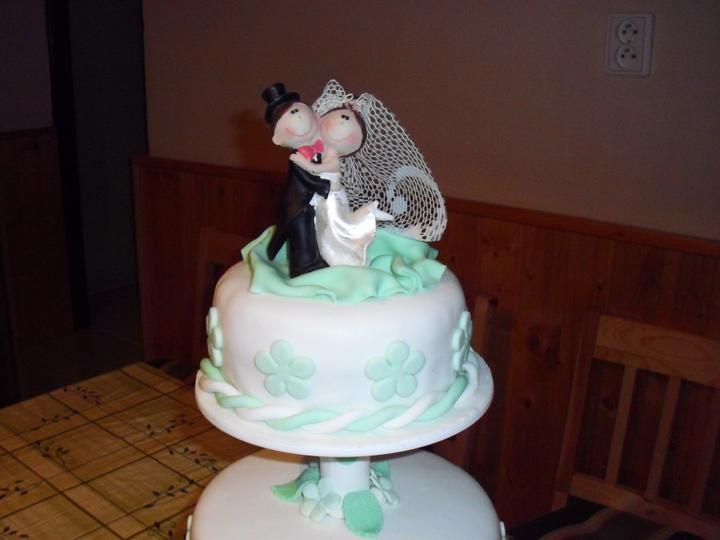 Svadobná torta - Obrázok č. 3