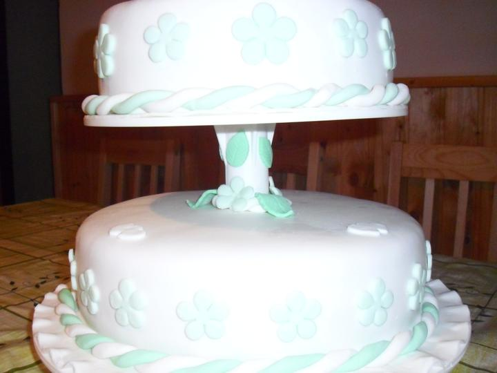 Svadobná torta - Obrázok č. 4