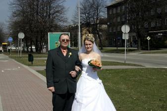 Já s tatínkem ještě za svobodna...