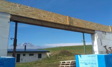 Budúce veľké okno z obývačky