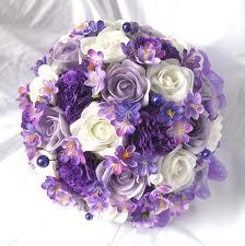 Lila mania - Svatební kytice