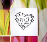 Svatební č. 27. Omyv. razítko, 3,7 x 3,4 cm, 177,-