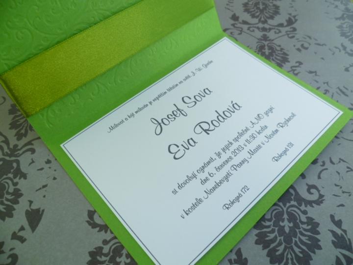Zelena Svatba Dekorace Na Svatebni Den Od Irenkad Svatebni