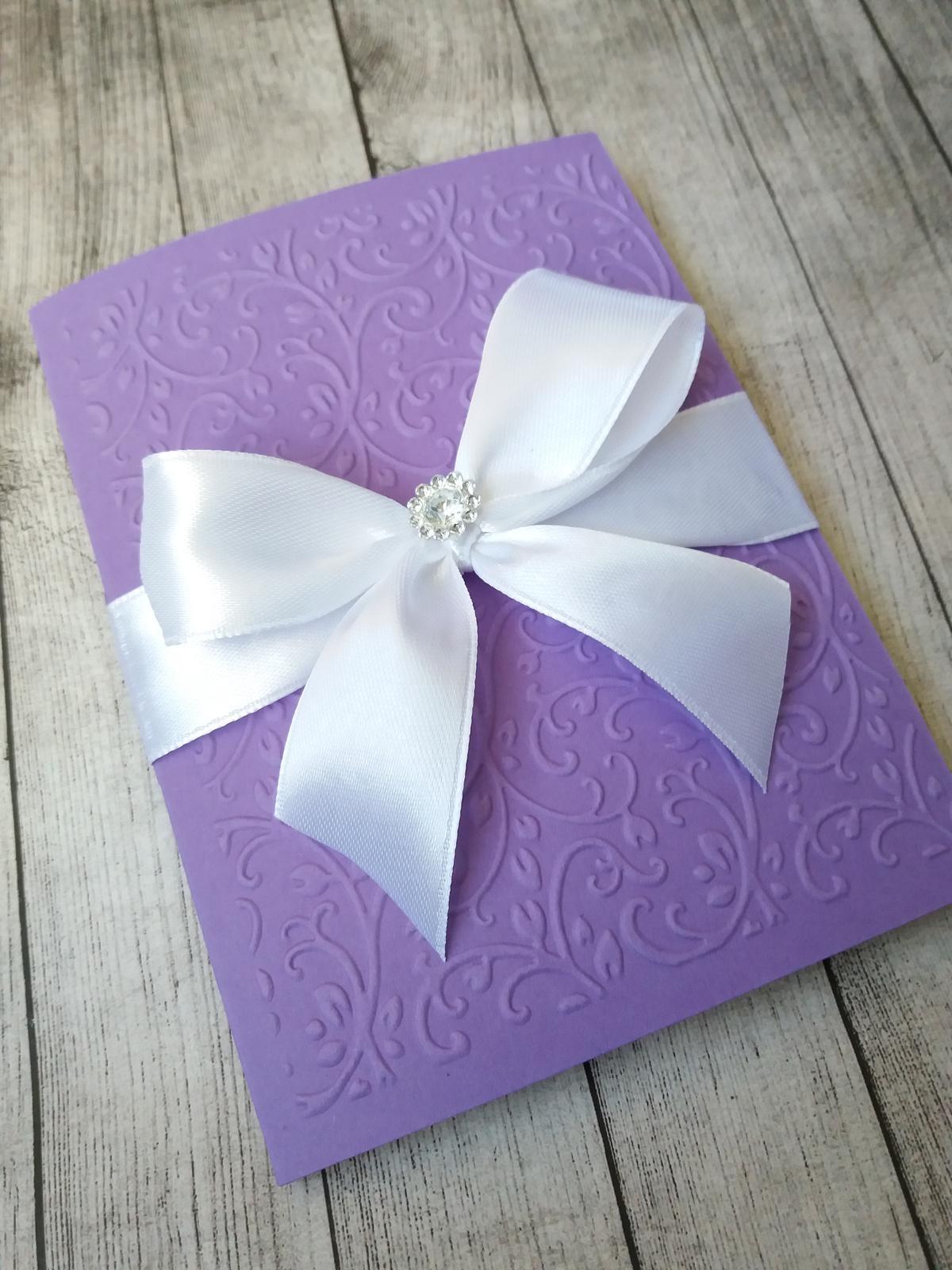 Svatební oznámení 2017 - 33kč +6kč pozvánka ke stolu