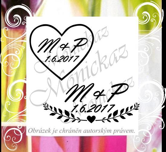 Svatební razítka nejen květinová - Obrázek č. 2