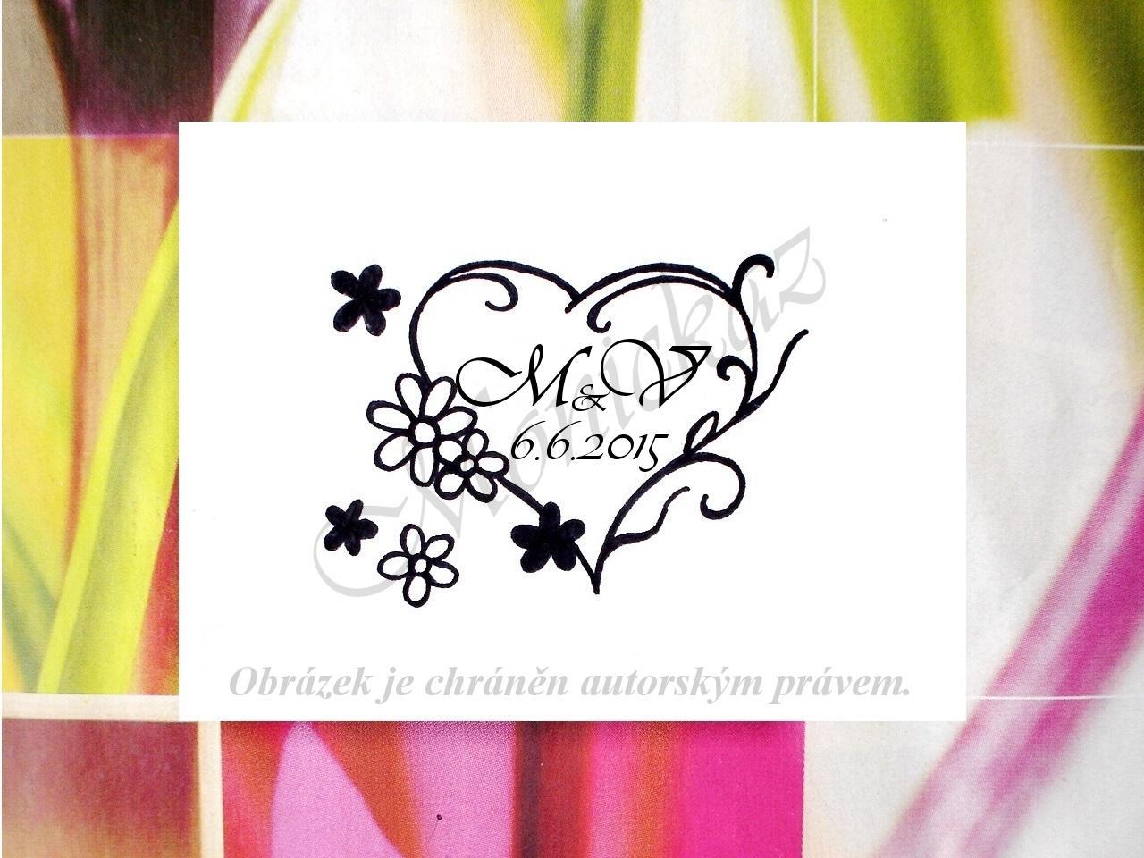 Svatební razítka nejen květinová - Obrázek č. 3