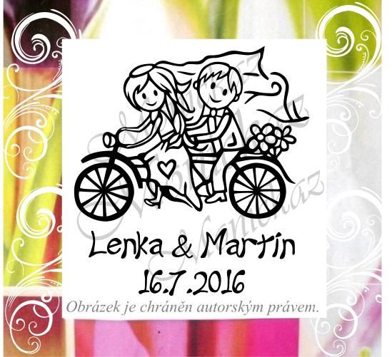 Svatební razítka handmade... - Obrázek č. 2