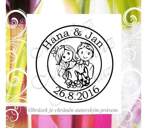 Svatební razítka handmade... - Obrázek č. 3