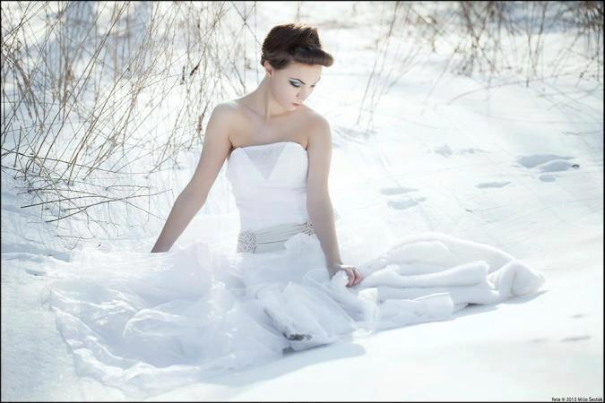 tia009 - zimná princezná / alebo netradičná nevesta