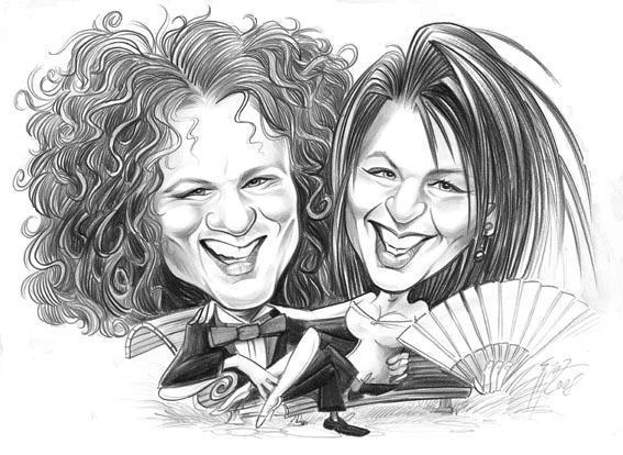 Alenka a Majko - Nasa svadobna karikatura