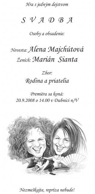 Alenka a Majko - Pre nasich priatelov...