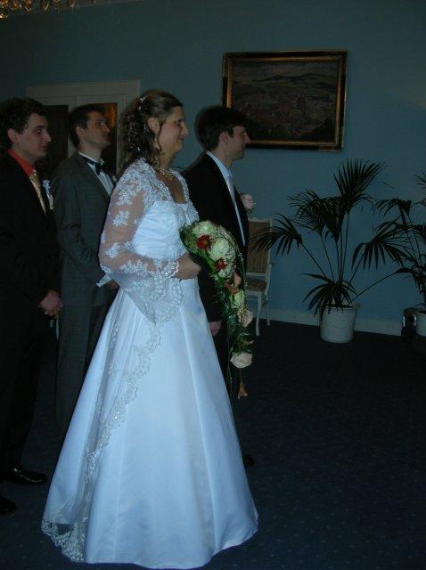 Lucie Pudilová{{_AND_}}Martin Kovařík - při obřadu