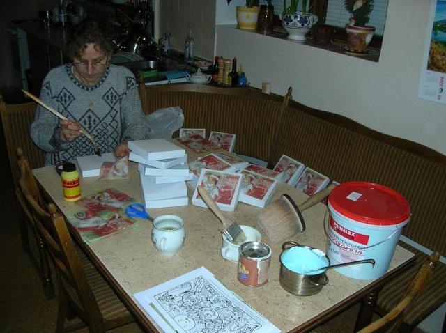 Kdy to začalo - krabičky na výslužky - výroba mojí maminky