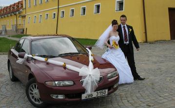 U auta nevěsty