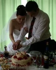 Krájíme dort :-)