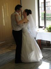 První manželský tanec na písničku od Lennyho Kravitze I´ll be waiting