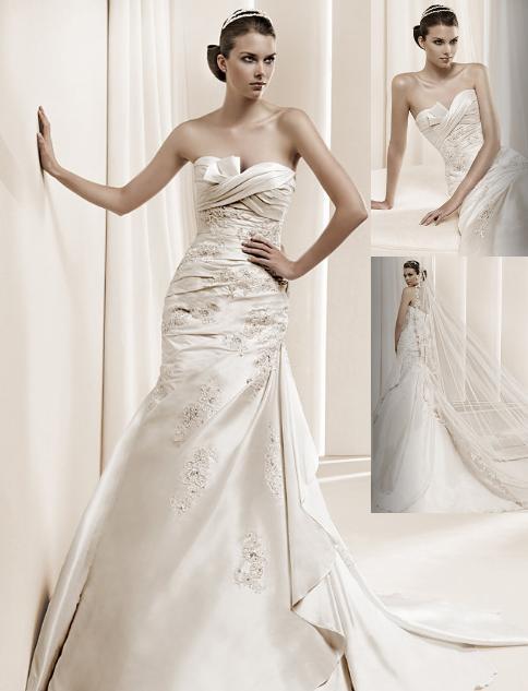 Soňulka & Míša 2010 - La Sposa předkolekce 2011 model Dalamo