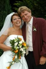 ....novomanželka s tatínkem....frajer že? :-)