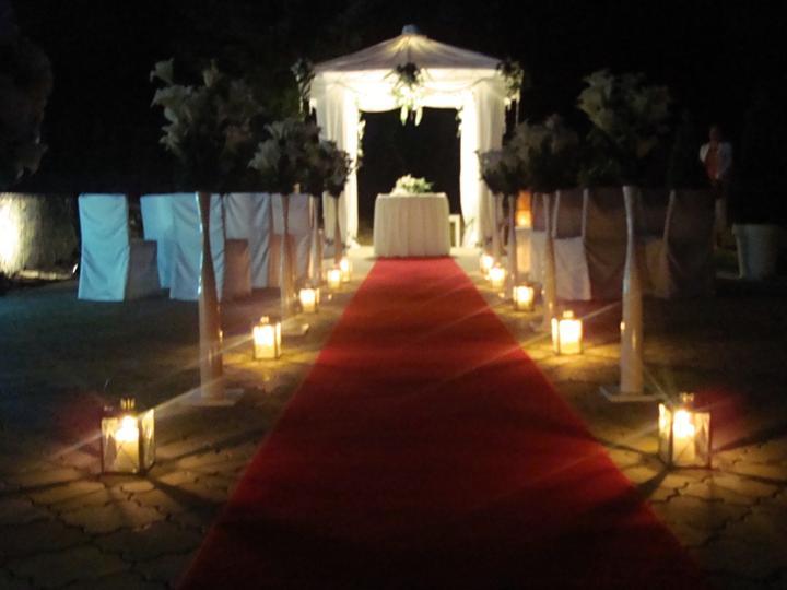Večerní svatební obřad v Penzionu Setina (altánek k pronájmu) - Obrázek č. 2
