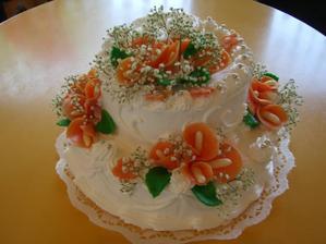 svatebí dort č.4