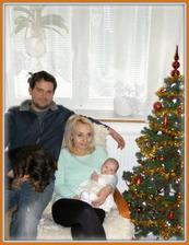 První Vánoce jako rodina
