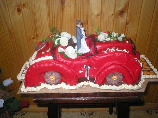 Príprava na náš veľký deň D Ľudka a PaĽko - netradicna torta ale krasne