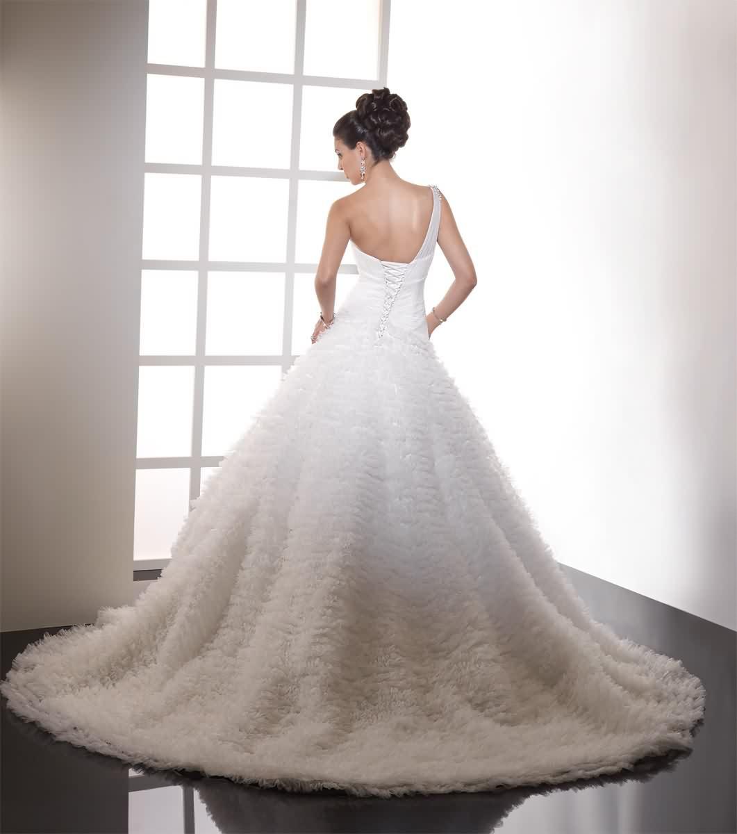 Výpredaj svadobných šiat! - Farba: ivory, veľkosť: 34-38
