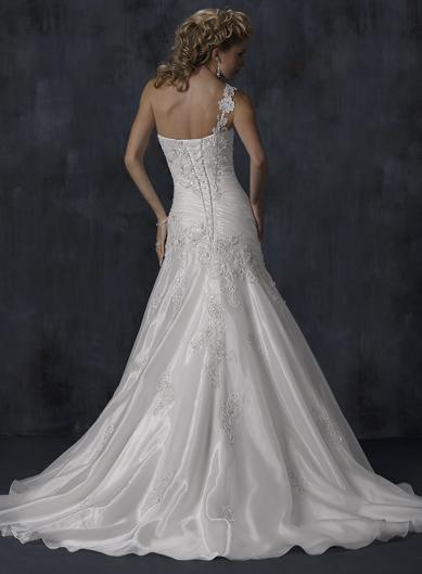 Výpredaj svadobných šiat! - Farba: White, veľkosť: 30-34