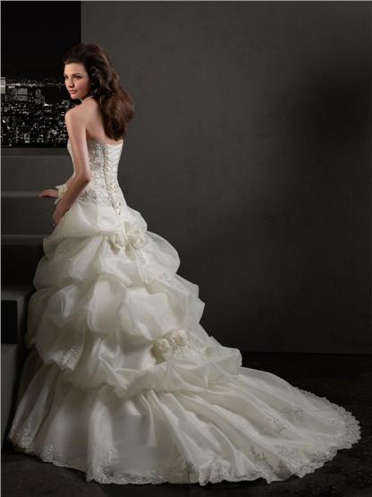 Výpredaj svadobných šiat! - Farba: white, veľkosť: 34-40