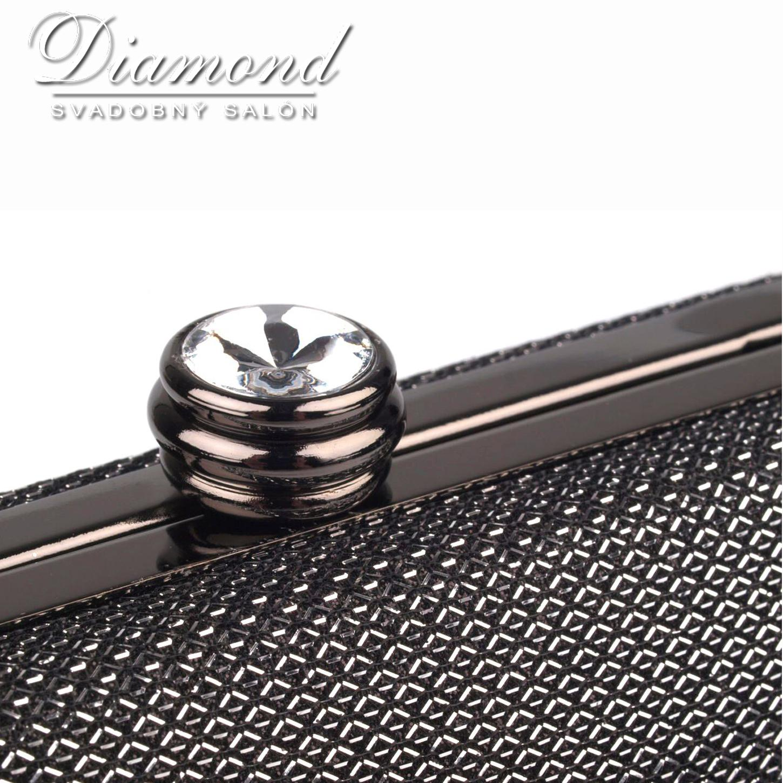 Zlatá lurexová kabelka - Obrázok č. 3