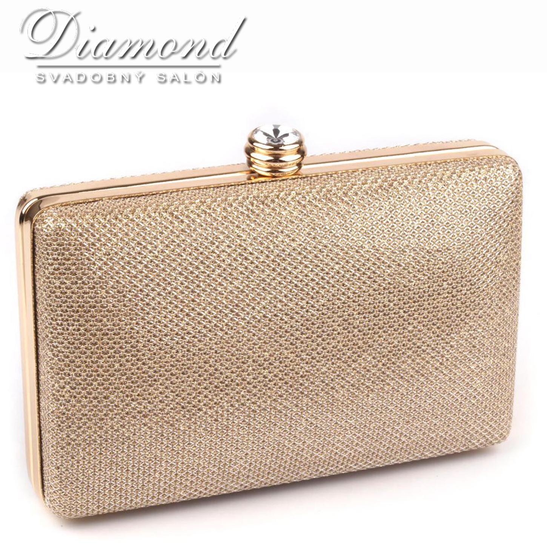 Zlatá lurexová kabelka - Obrázok č. 1