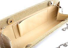 Strieborná luxerová kabelka - Obrázok č. 3