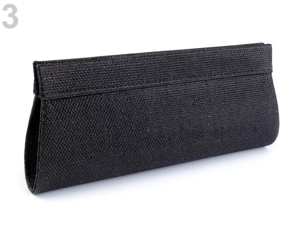 Čierna luxerová kabelka - Obrázok č. 3