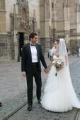 Tulipanie svadobne saty na predaj, 36
