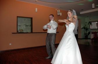 malé prekvapenie pre hostí - nacvičili sme si krátky tanček :)