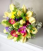 tulipánky a luční kvítí