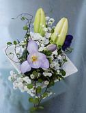 zahradní svatba polštářek pod prstýnky