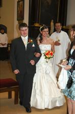 novomanželé, opravdu čerstvě