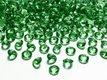 Dekoračné diamanty zelené,