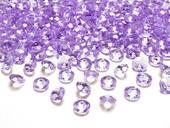 Dekoračné diamanty levanduľové,