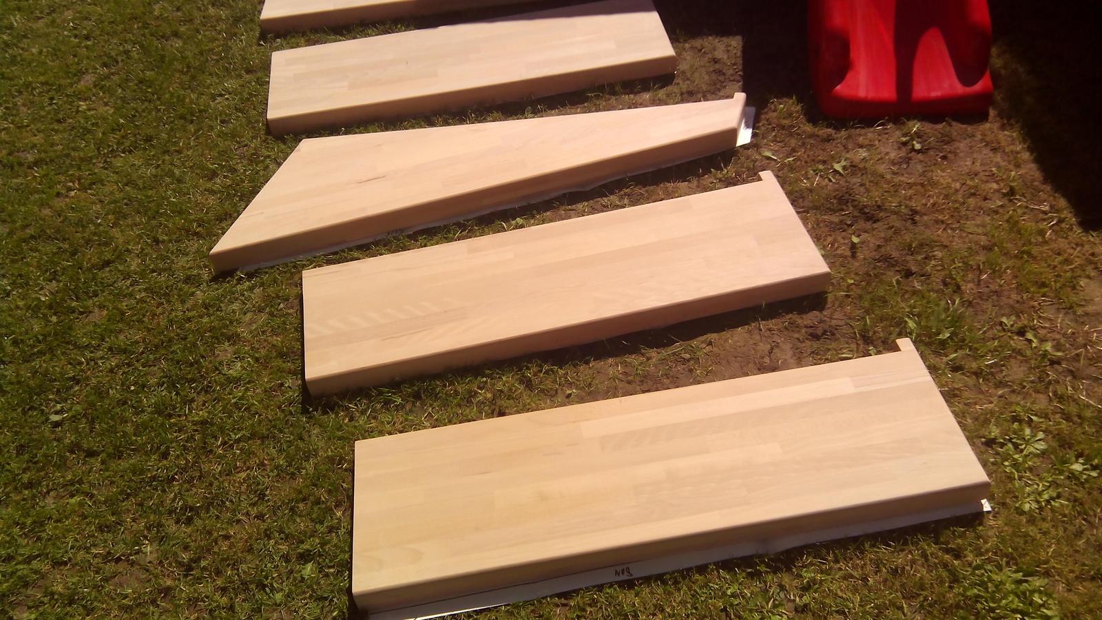 dreveneschody - Výroba schodníc (schodiska BUK) na mieru obrázok č.4.