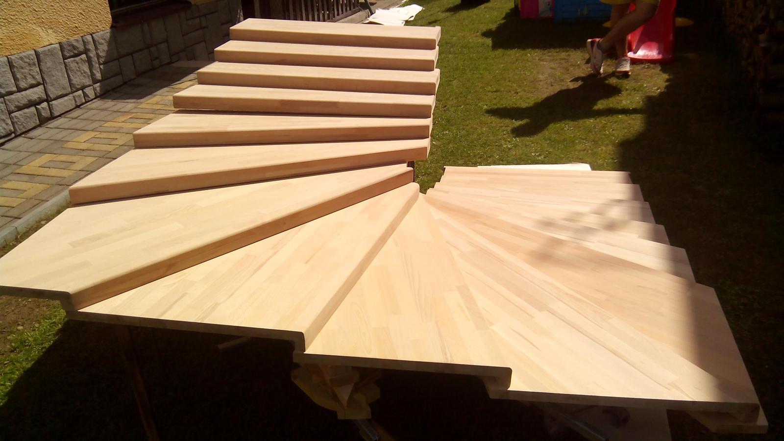 dreveneschody - Výroba schodníc (schodiska BUK) na mieru obrázok č.6.