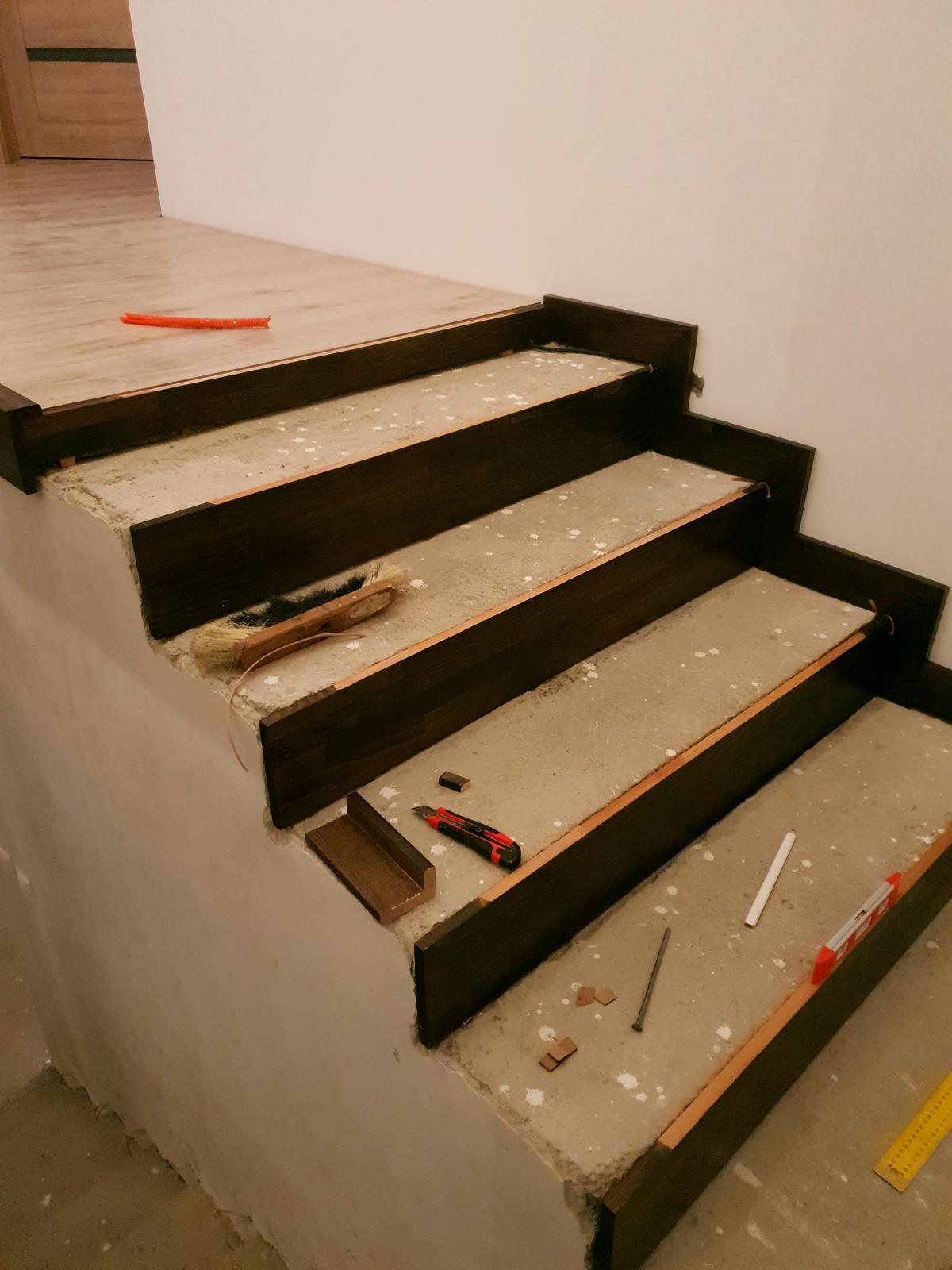 Drevené schody- BUK - Obrázok č. 3