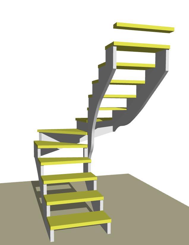 Návrhy schodov - Obrázok č. 70